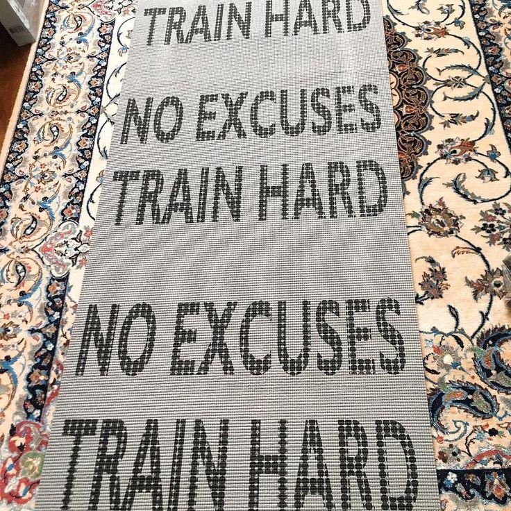 "51 Likes, 3 Comments - @bon.baiser.de.g on Instagram: ""No excuses Train hard 💪🏼🏋🏻♀️🧘🏻♀️ #tapisdefitness #tapis #fitness #sport #sportalamaison…"""