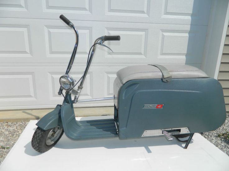 Vintage Motor Scooters | 1960 Other Makes VINTAGE 1960s CENTAUR Fold Up MOTOR SCOOTER MOPED ...