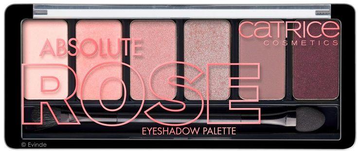 Új Catrice termékek - 2015 tavasz / nyár CATRICE Absolute Rose Eyeshadow Palette NEW