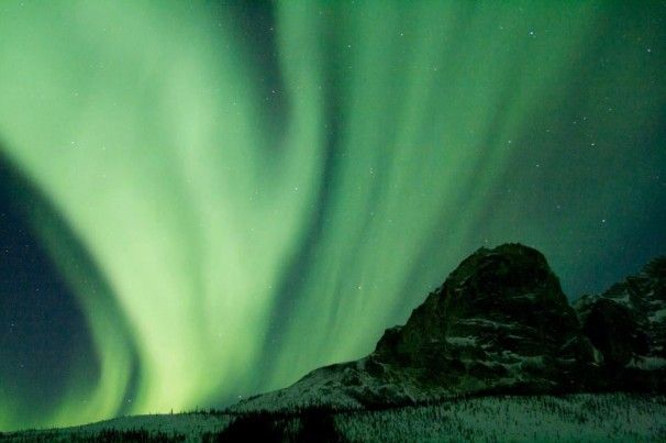 Public lands offer great opportunities to gaze upward at sights such as the Aurora Borealis, also called the Northern Lights. Aurora frequencies are vastly increased whenever there is high sunspot activity.