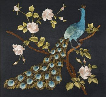 Peacocks and pomegranates have long been used as motifs on embroidery in a wide range of cultures. Running from January until July 2016, the 'Peacocks & Pomegranates' exhibition will feature pices from the Royal School of Needlework's Textile Collection
