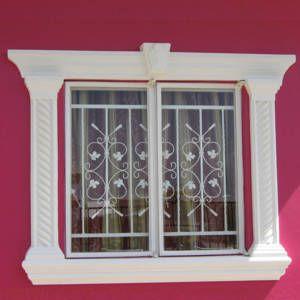 Molduras de hormigon ideales para frentes y fachadas - Molduras para ventanas exteriores casas ...