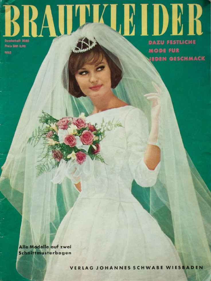 Brautkleider 9/1962  A vintage magazine from my collection, full scan.