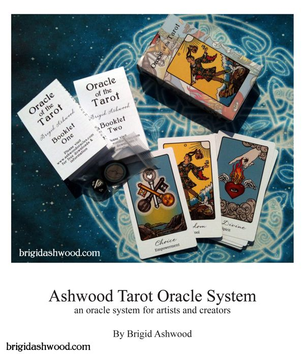 Brigid Ashwood shares her guide on how to make a DIY oracle deck based on the tarot. For free! Download the pdf through the link.