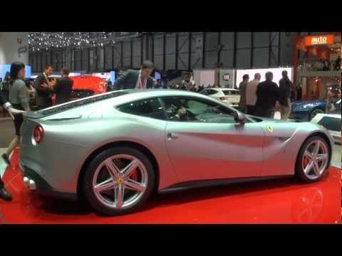 Ferrari - F12 - berlinetta  【ジュネーブショー2012】 フェラーリ F12ベルリネッタはジュネーブの華