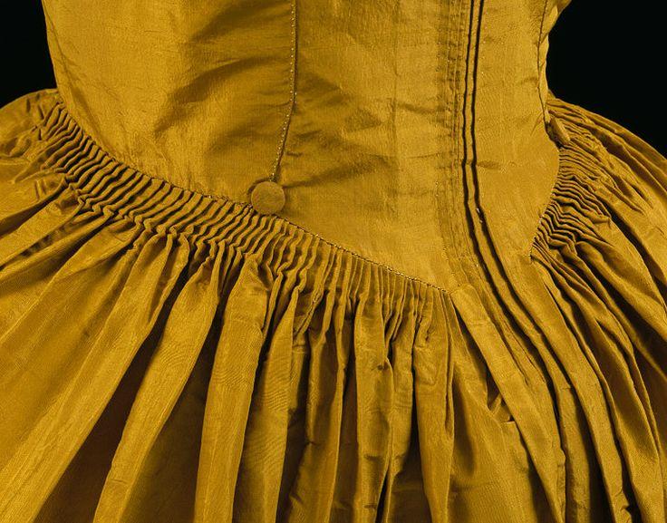 Polonaise gown, 1774