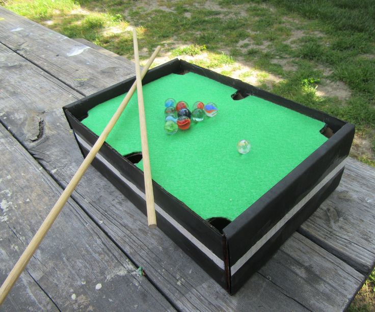 Wonderful Mini Pool Table Top Game