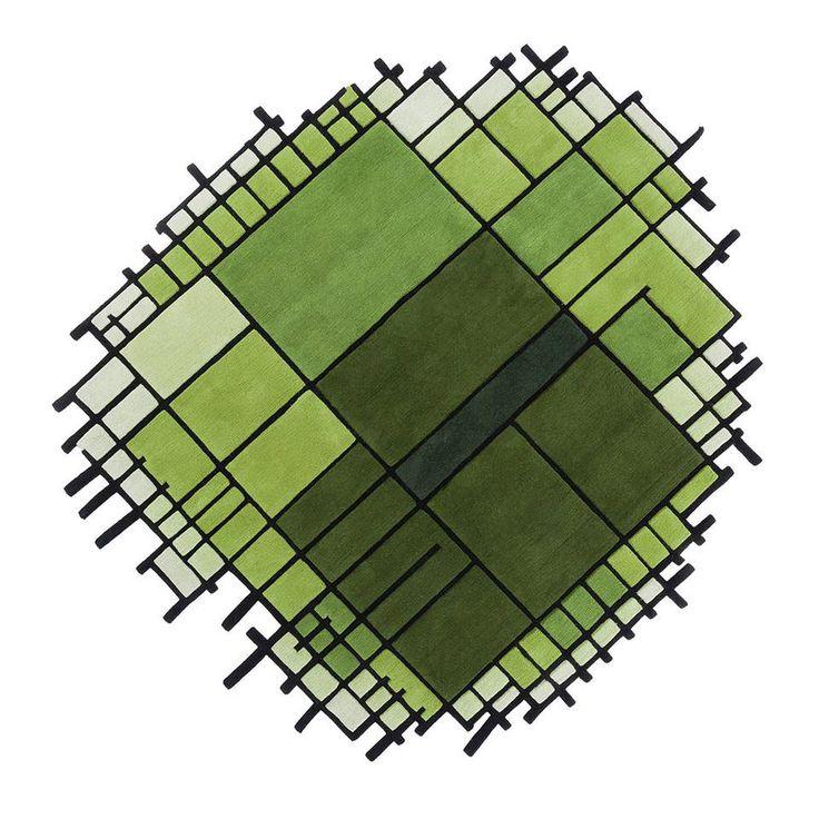 Top 10 Matali Crasset's feeling for design | Matali Crasset in 10 pieces of design | Microcosmo, Nodus, 2014 | @matalicrasset @nodusrug #rug #designbest |
