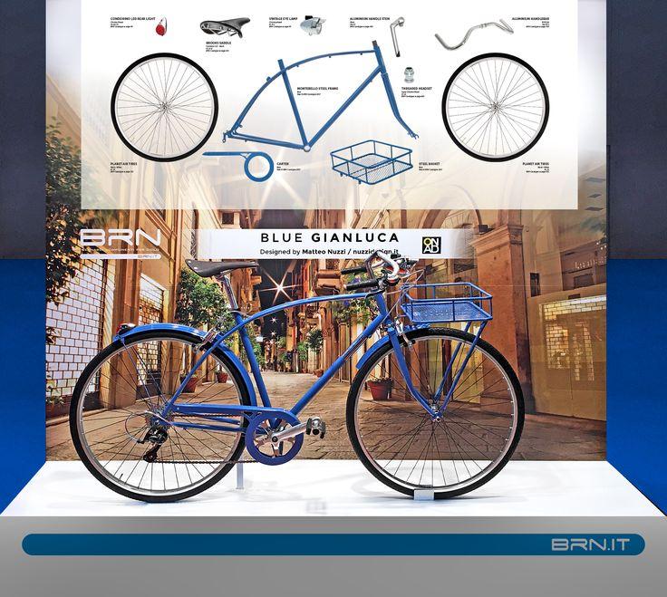 Ecco alcune delle #novità #2017 #BRN presentate in occasione della fiera della #Bicicletta di #Madrid! Questo modello realizzato da #Nuzzi #Design si chiama #Gianluca. Vi piace? #custombike #bikeparts #bicycleparts #fixedgear #frame #bowframe #baaw #bicyclelifestyle #bicyclelove