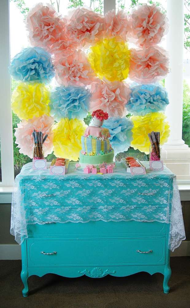 Enchanted Wonderland Baby Shower | CatchMyParty.com