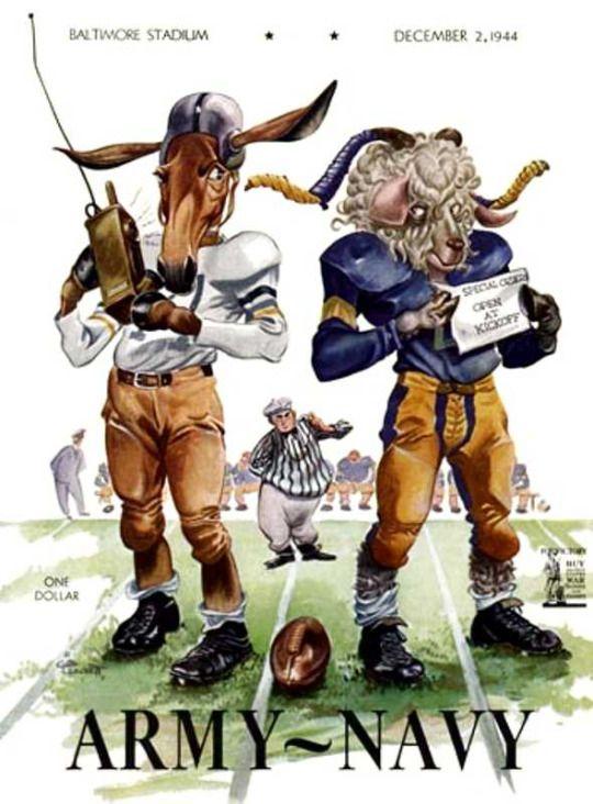 Army vs Navy football program (1944)