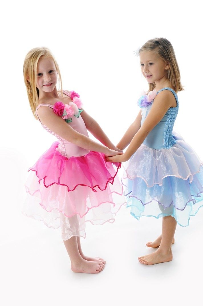 Available Sizes: S, M, L $39.95  S 1-4 Years  M 4-6 Years  L 6-8 Years  Available Colours: Light Blue, Light Pink, Rainbow  A very special dress with a Pretty flowered bodice and a 3 tiered skirt. This style looks divine on and is very comfortable too.  *Some slight colour variations may be noticed from computer/device screens to that of the actual item*