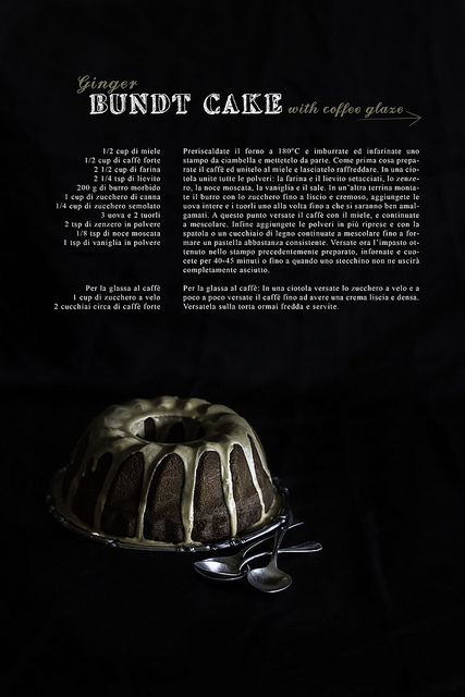 Ginger BundtCake with Coffee Glaze by Marcello.Arena, via Flickr