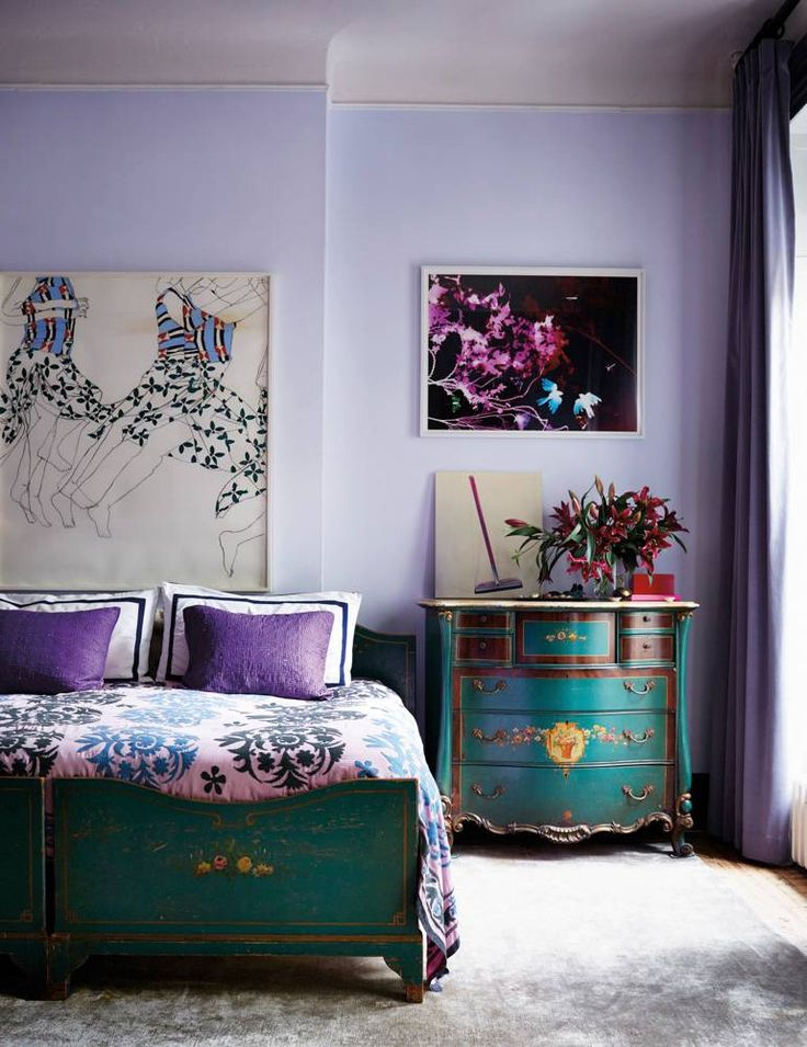 Take a peek inside Prinkshop's Pamela Bell's stunning East Village townhouse, and get inspired by her salon-style walls and array of colorful accents. Head to domino for home tours, decor inspo, and more.