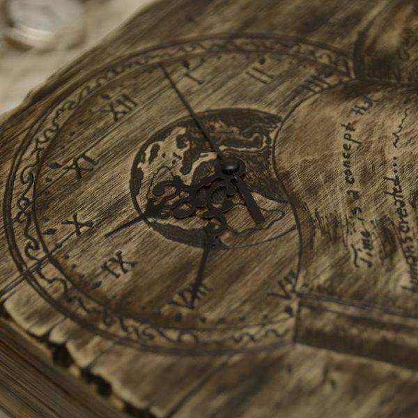 Cutie pentru ceasuri 'Time'- handmade with love by Gemini Atelier