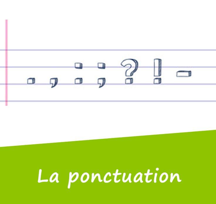 Les signes de ponctuation peuvent être placés en fin de phrase ou bien à l'intérieur de la phrase.