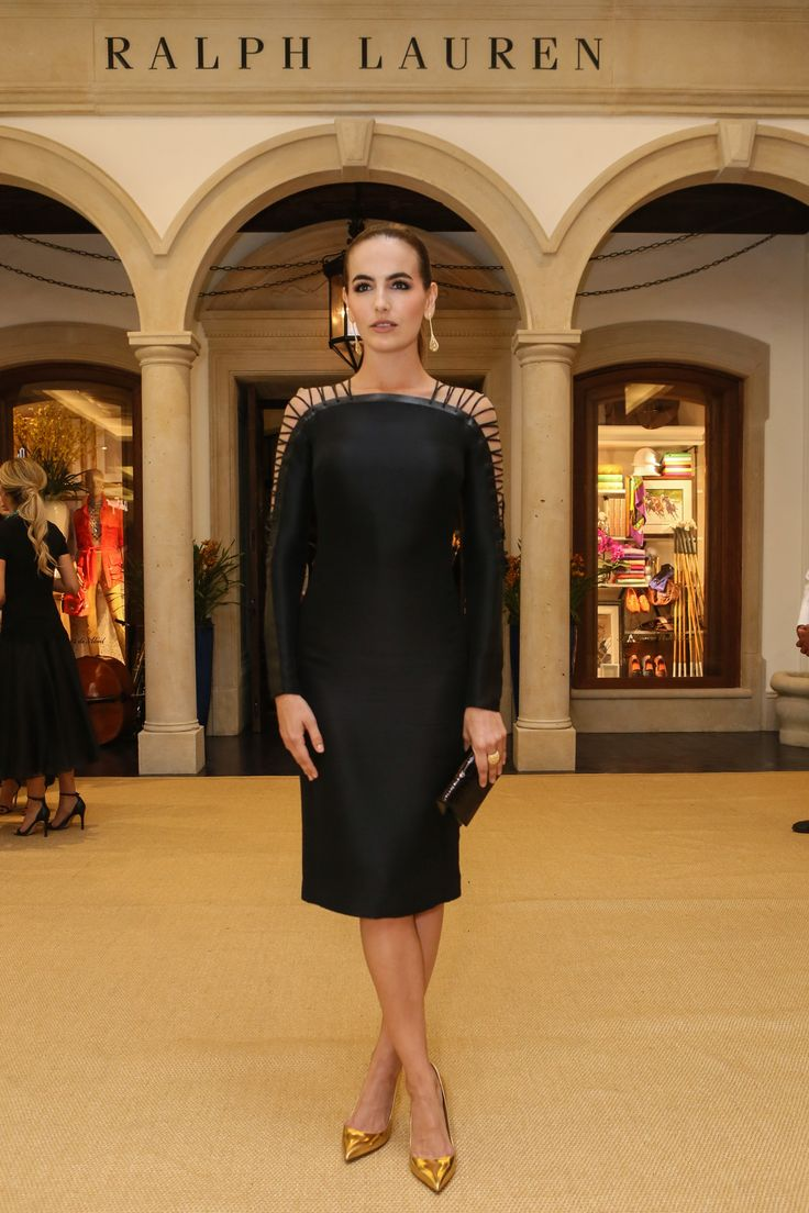 """""""I'm thrilled to celebrate Ralph Lauren's arrival in Brazil. Bem vindo!"""" - Camilla Belle, at the cocktail event to celebrate the luxury store Sāo Paulo, Brazil"""
