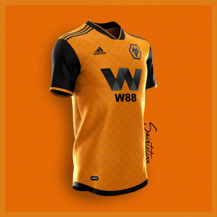 Amazing Adidas Wolves 19-20 Home, Away & Third Concept Kits by ...