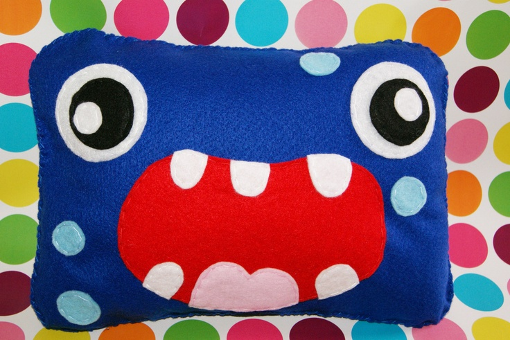14 Best Monster Cushions Images On Pinterest Monsters Cushions And Pillows