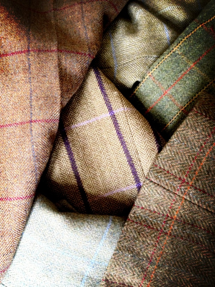 Tweed!! Its so colorful, how could you not love it!