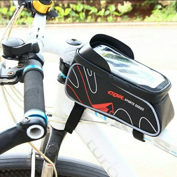 CBR Mobile Phone Package Touch Screen Bicycle Bike Frame Bag for 6.0 inch or les - Other