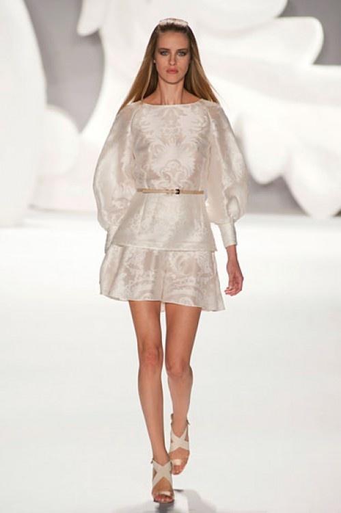 New York Fashion Week Spring 2013 Runway Looks - Best Spring 2013 Runway Fashion - Harper\'s BAZAAR