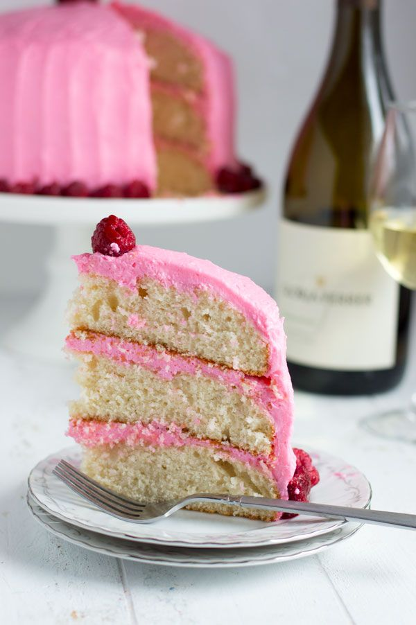 Chardonnay Cake with Raspberry Buttercream This chardonnay cake is moist with the perfect crumb and topped with sweet raspberry buttercream. It's a great spring recipe and perfect for entertaining!…