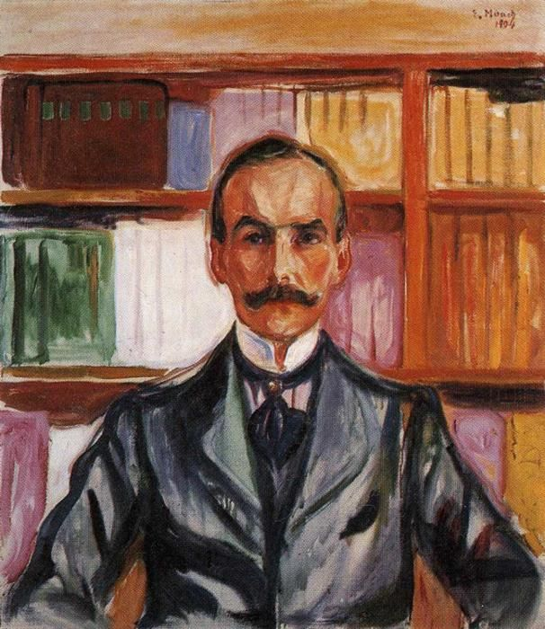 Harry Graf Kessler.1904 by Edvard Munch