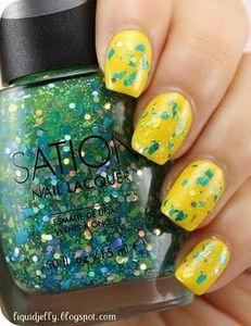 Sation Go Glitter Multi Nail Polish 3022