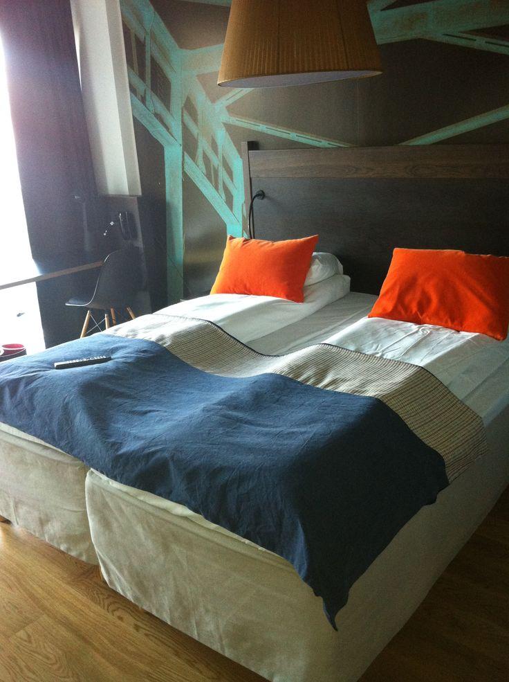 Standard room, Scandic Vulkan, Oslo, Norway