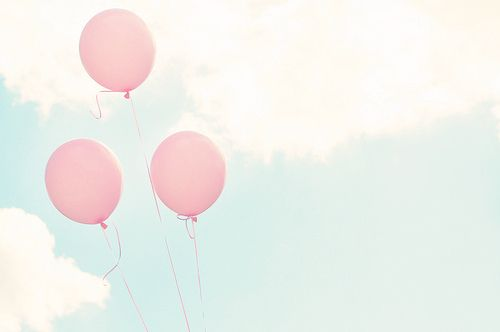 Balloons are always such a happy sight!!: Pink Summer, Pink Balloons, Twitter Headers, Blue Sky, Pastel Balloon, Pastel Pink, Flying Away, Photography, Pastel Parties