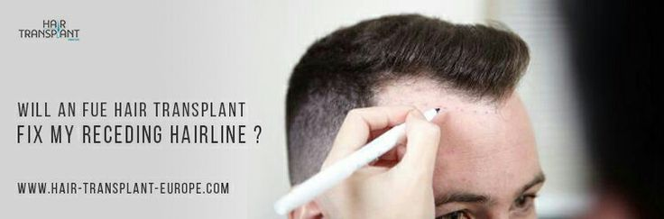 Are you going bald or do you just have a receding hairline? See more: http://www.hair-transplant-europe.com/what-is-fue-hair-transplant/