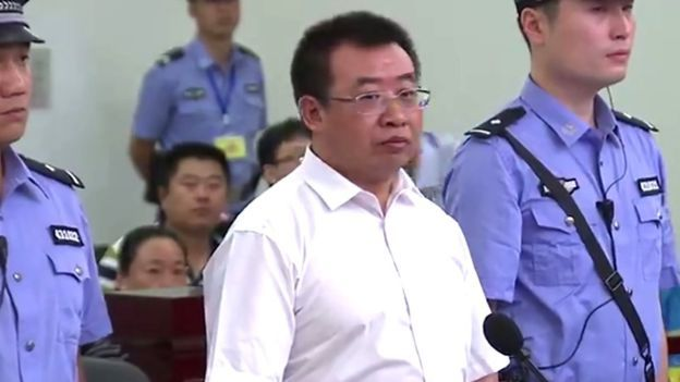 """A prominent Chinese human rights lawyer has been jailed for two years, the latest conviction in Beijing's crackdown on rights activists. Jiang Tianyong was found guilty of inciting subversion of state power and defaming China's political system. His wife told Reuters that the verdict was unacceptable. Amnesty International dismissed the trial as a """"sham""""."""