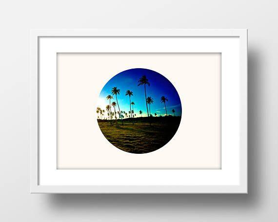 Arte de impresión, impresión de fotografía de árboles de Palma» decoración moderna» Casa Decor» impresión Digital» arte minimalista» moderno foto imprimir» foto