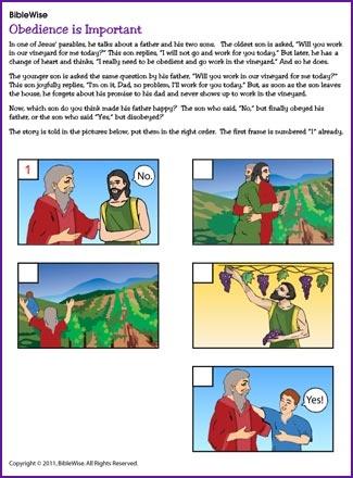 Children's Story Garden: The Obedient Kid