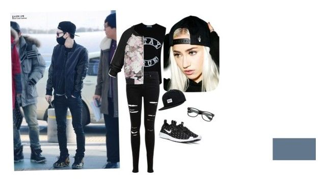 """""""Styles #2"""" by alejandraal on Polyvore featuring Creep Street, Brixton, Miss Selfridge and NIKE"""