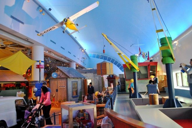Children's Museum / Museum of Civilization (just over the bridge into Gatineau)