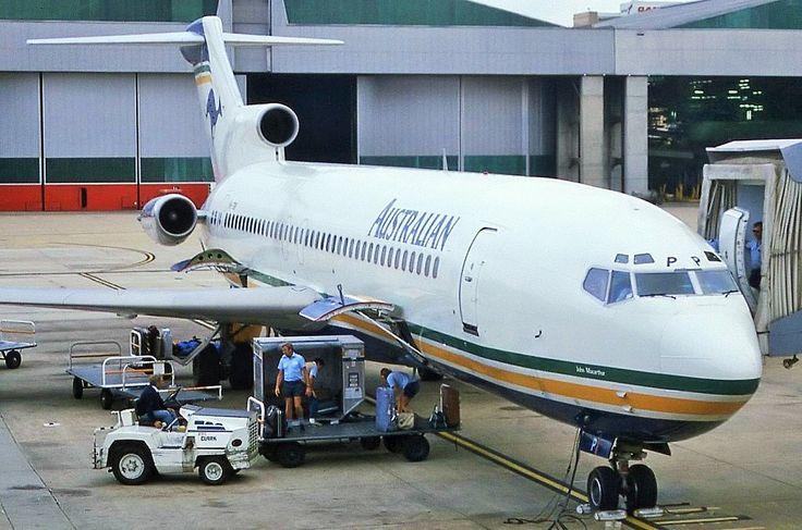 Australian Airlines Boeing 727-276 (VH-TBP)