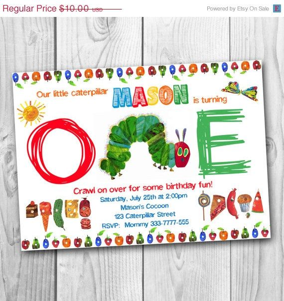 87 best images about Very Hungry Caterpillar Party – Very Hungry Caterpillar Party Invitations