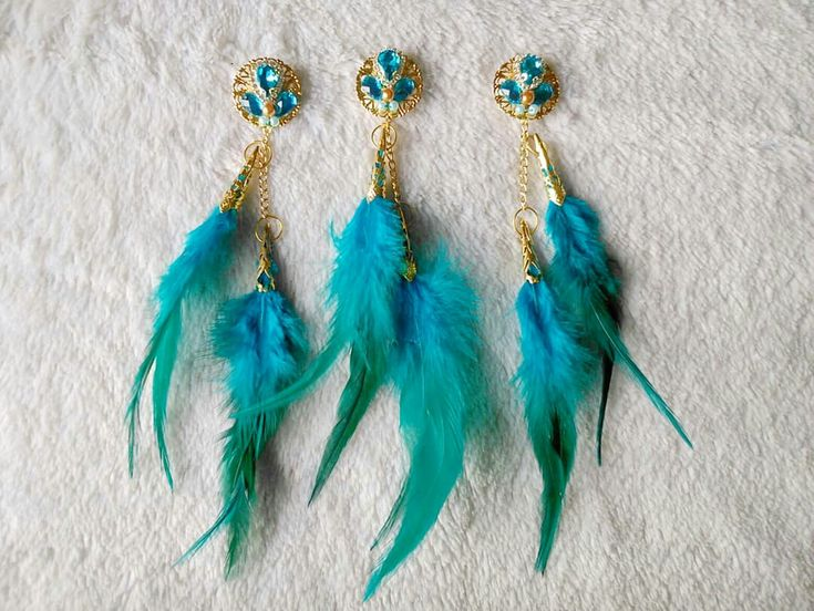 Exclusive Feather Brooch