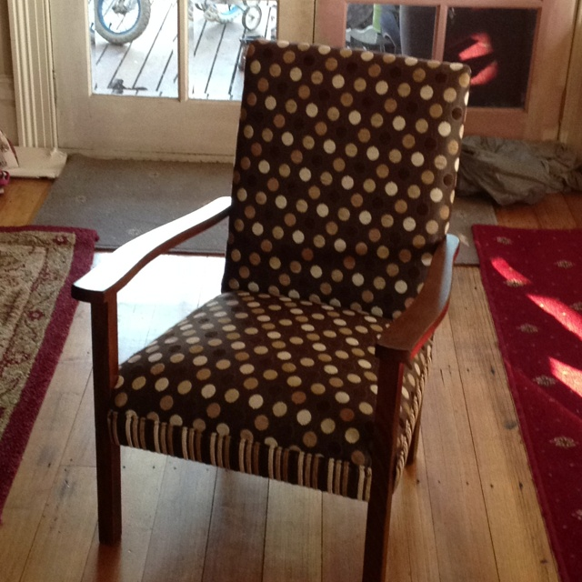 Just finished restoring this lovely fire side chair for a friend! By the Brooke Upholstery. Furniture. Homewares.
