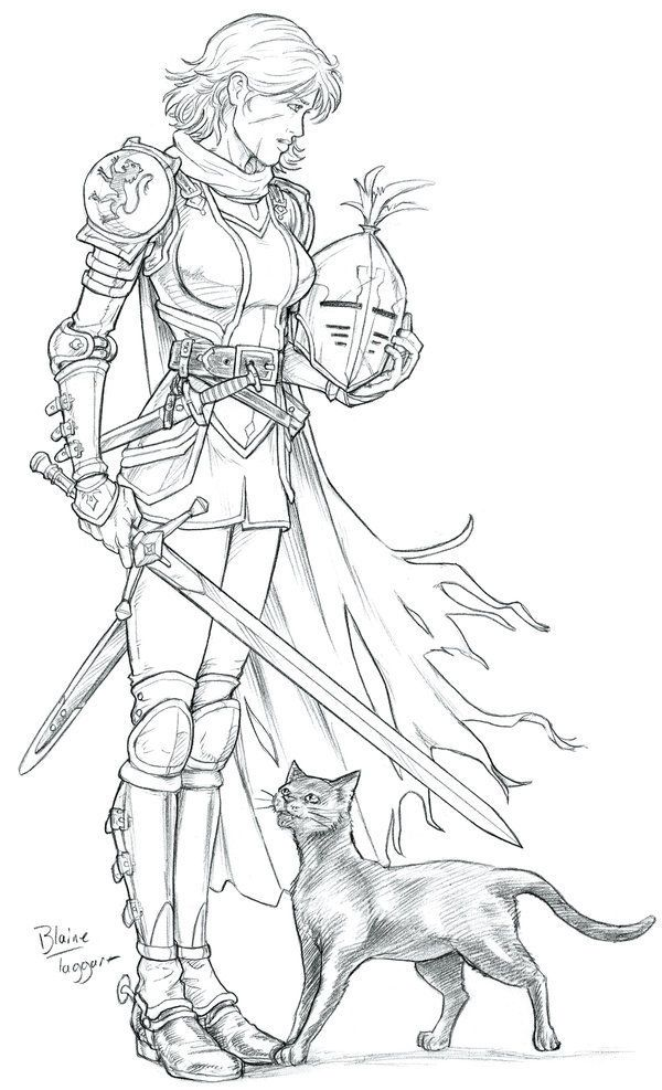 Alanna of Trebond <3 (Song of the Lioness by Tamora Pierce)