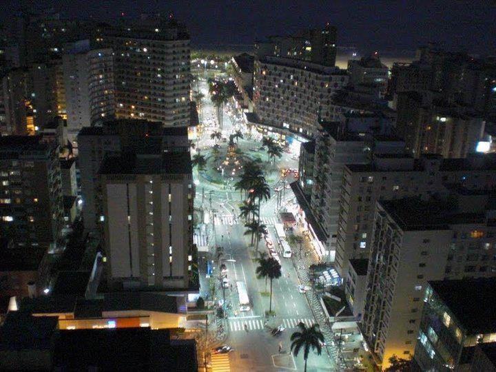 Praça Independência - Santos