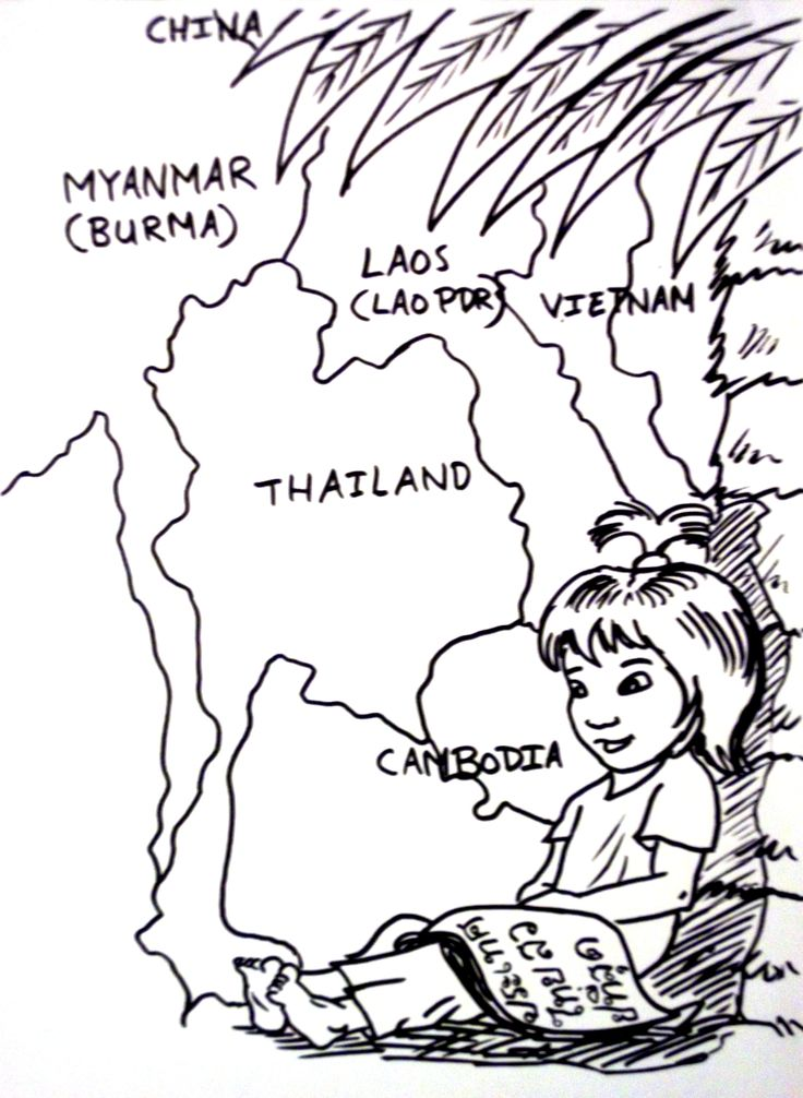 thailand coloring pages - photo#1
