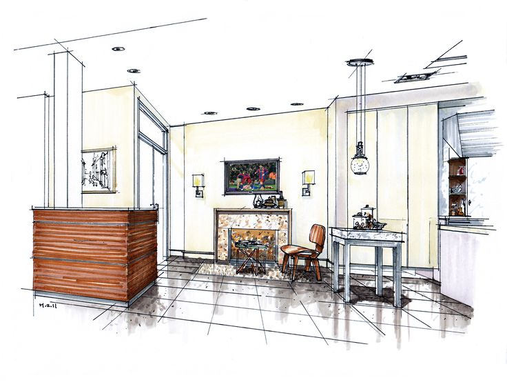 Interior Design Color Sketches 341 best interiors images on pinterest | interior design sketches