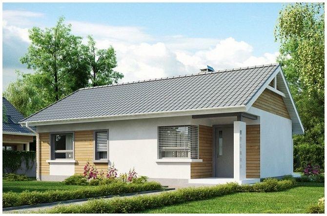 Z 87 (71,5 m2) | TROMAR Domy drewniane, domki letniskowe, domki ogrodowe, altany i altanki ogrodowe pomorskie, Trójmiasto