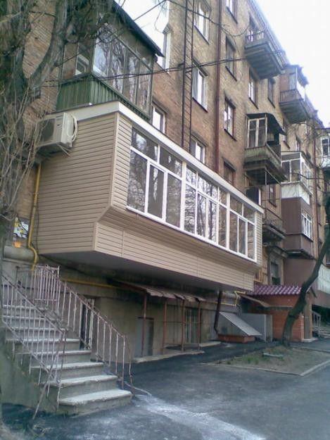 Шедевры балконостроения