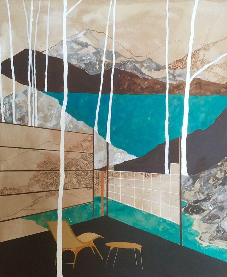 Charlotte Keates, Over Under, 2016   Porthminster Gallery