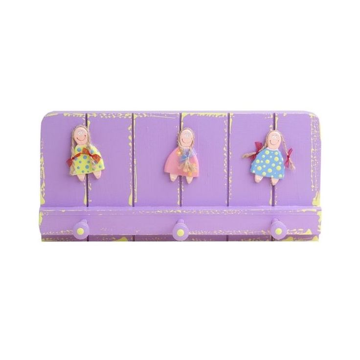 Wooden Wall Hook for Girls