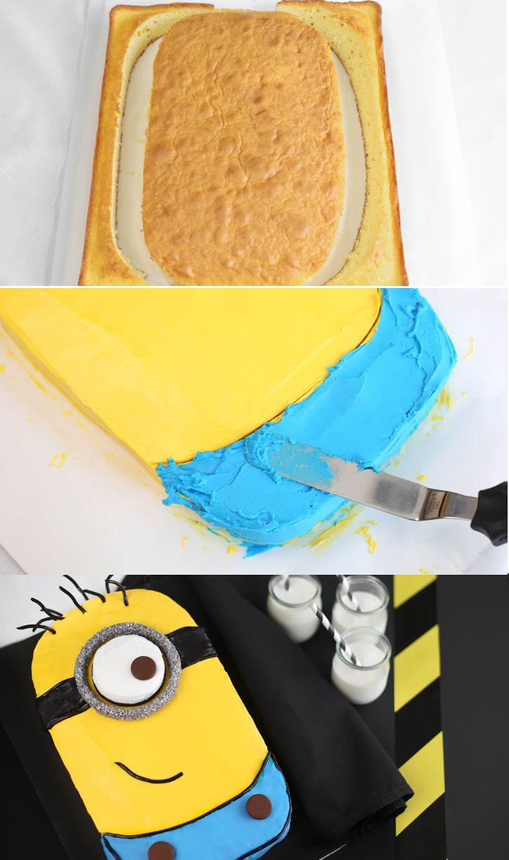 Minion Cake Tutorial Easy